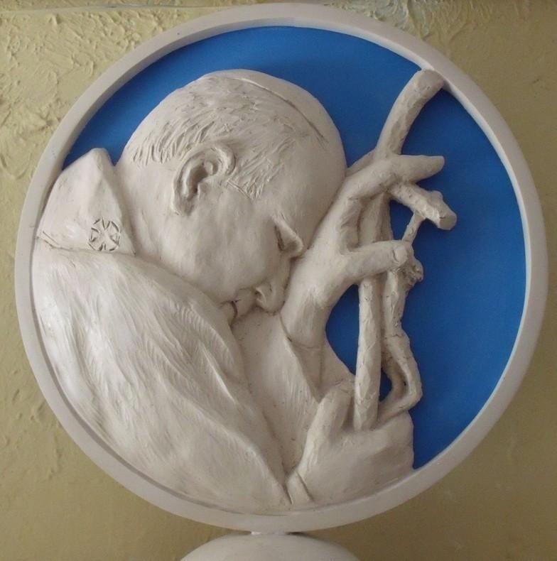 Giovanni Paolo II, gesso