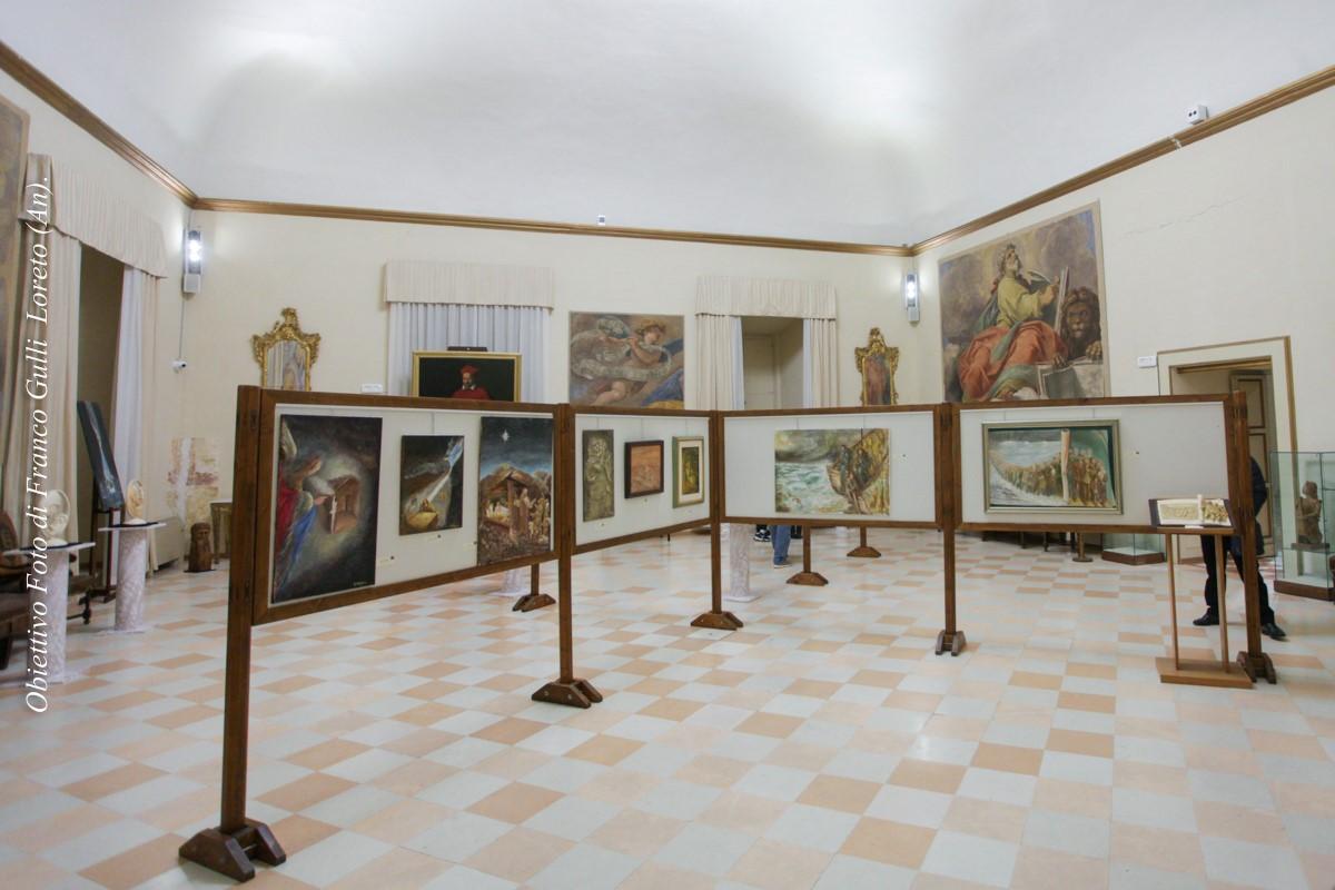 Panoramica sala espositiva