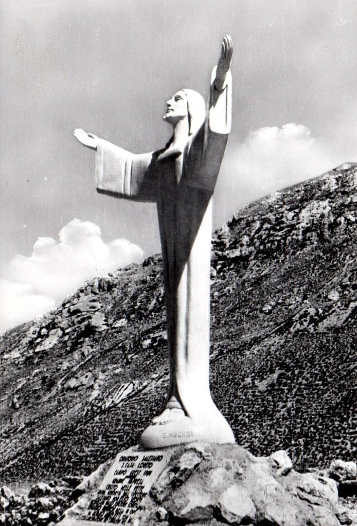 Cristo delle Nevi, Ussita (MC) 1964