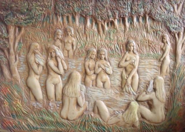 Donne al bagno