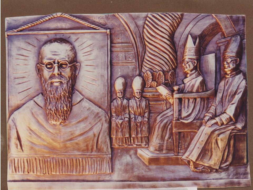 17 ottobre 1971: padre Kolbe viene beatificato