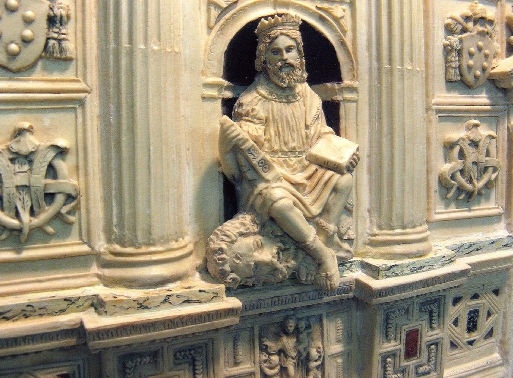 Re Davide, particolare