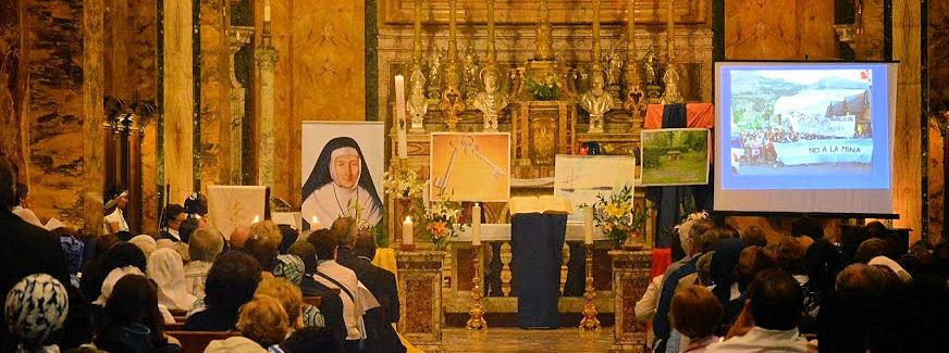 Celebración en la Iglesia de San Luis de los Franceses - Roma