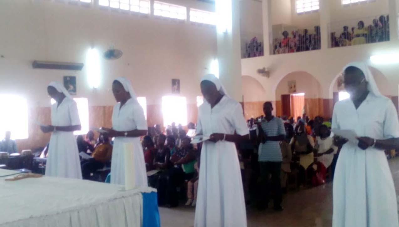 Senegal: Profesión religiosa