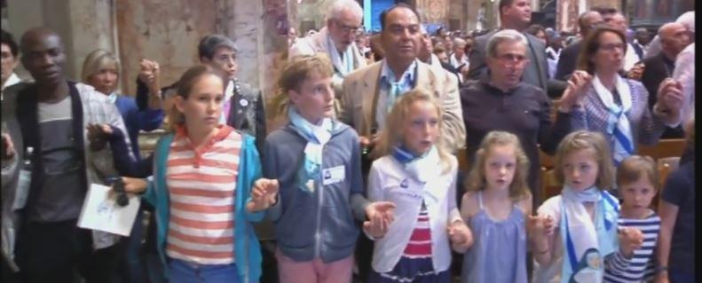 Vigilia de la canonización - St Louis des Français
