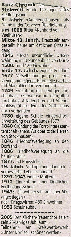 Quelle: Einbecker Morgenpost vom 01.08.2005