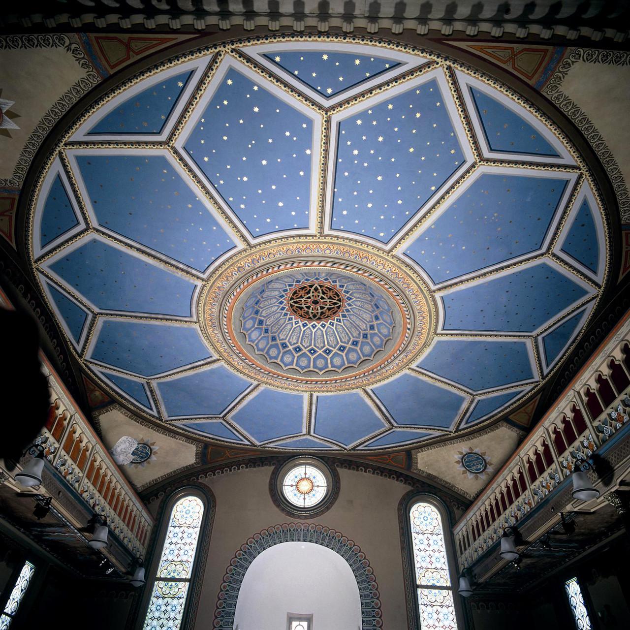 decke mit himmelsrund synagoge hechingen. Black Bedroom Furniture Sets. Home Design Ideas