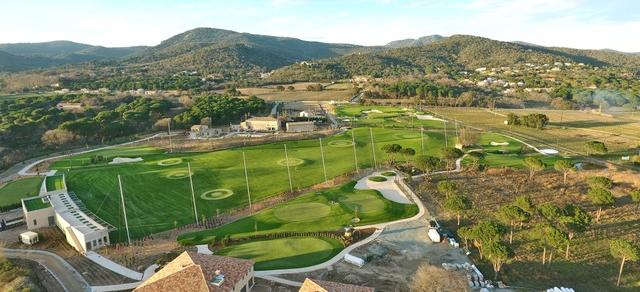 Golf up 9 Loch Pitch&Putt Anlage in Grimaud / F