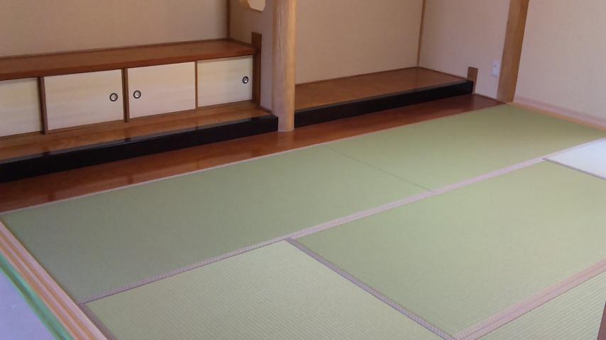改築の純和室