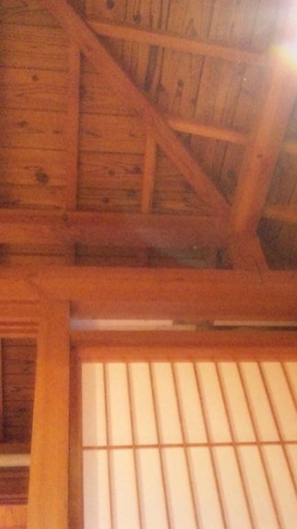 日本家屋の造りです。