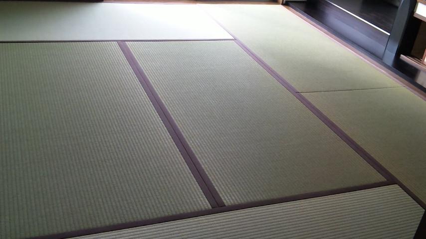 畳も18・5枚表替え