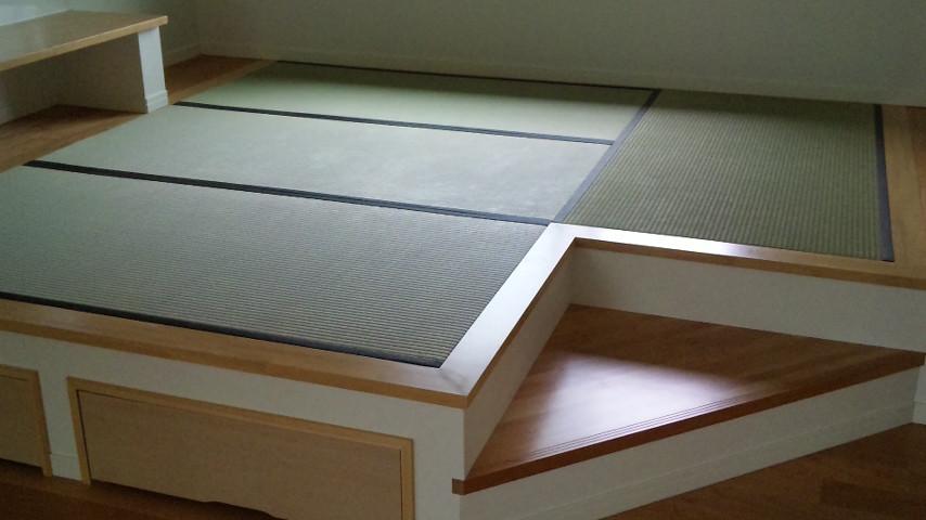 畳床下収納 い草表