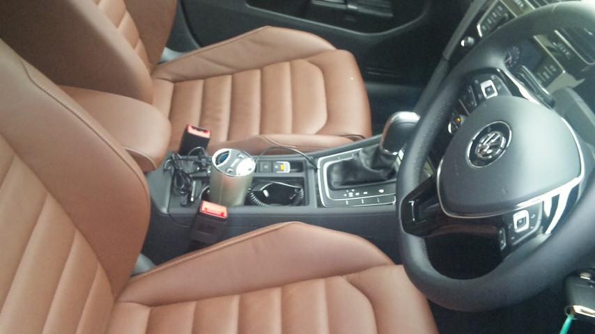この車は特別なシートが装備されてました。