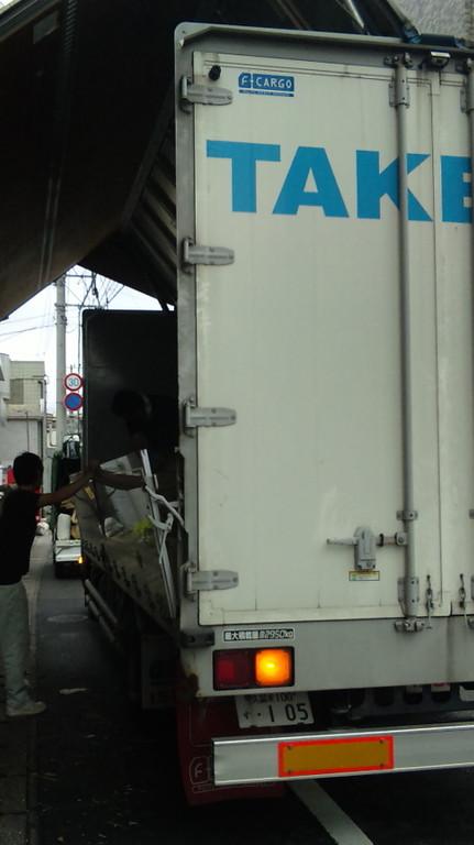 竹田さん!配送の倉員さん、いつもありがとうございます。