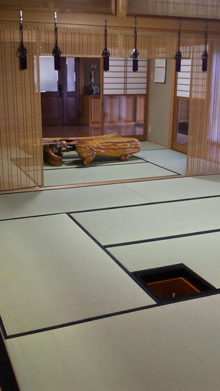 床の間のお茶の炉