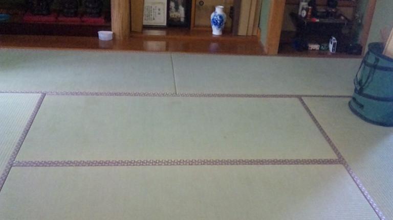 床の間も新調で見違えるようになりました。