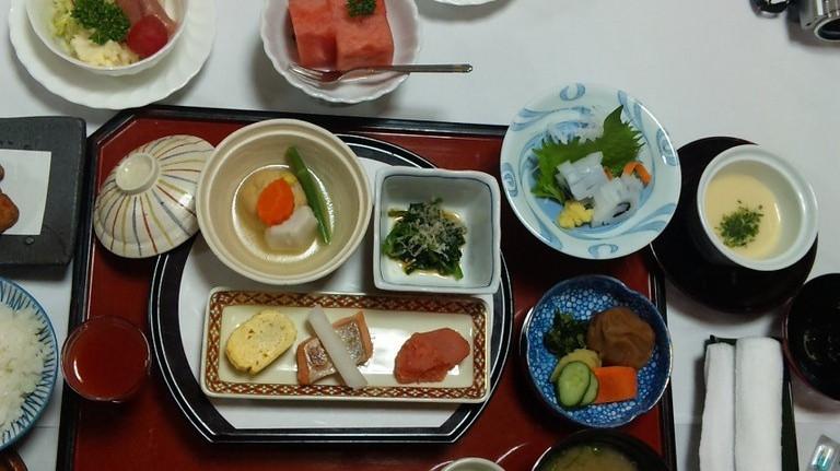 一日目朝食