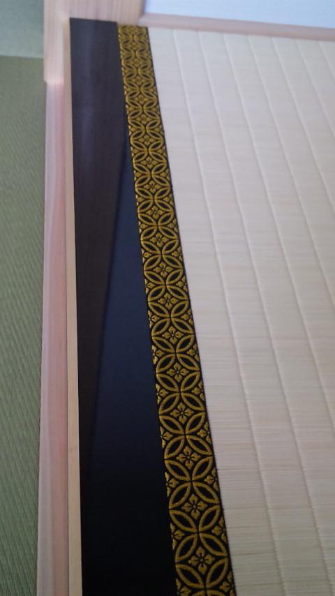 床の間にすっぽりと収まり床の間もワンランク上の仕上がりです。