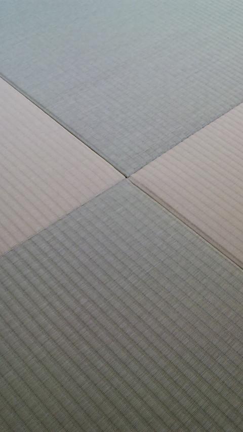 銀白グリーンとリーフグリーンの組合わせ