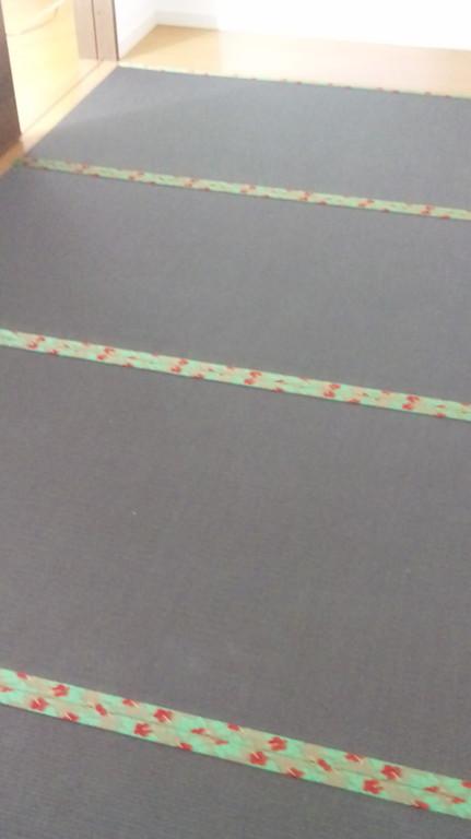 畳表 清流 栗色