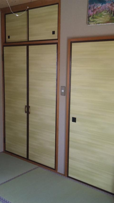 2階 板戸   凛№308