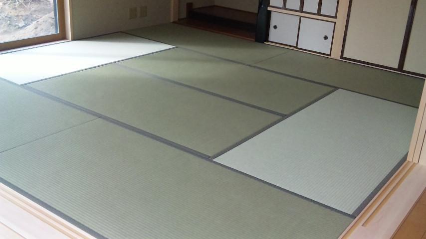 純和室 八畳 広いです。