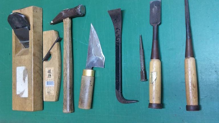 ふすま・障子の道具