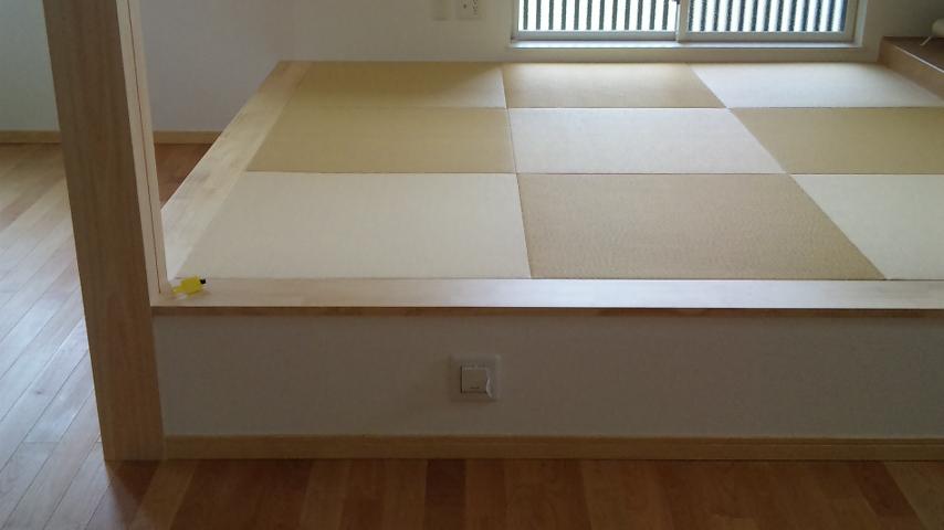 縁なし畳の間 55ミリ厚