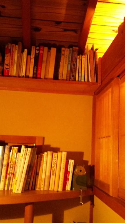 隠れ家的な書斎まであります。