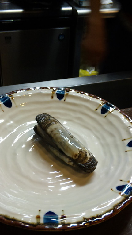 この貝がオス勧めらしいです。今度味見!