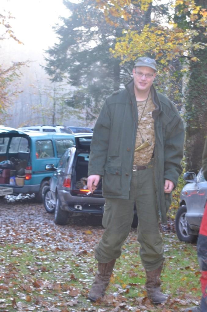 Fabian Bäbler war einer der beiden Treiberchefs an diesem Tag.