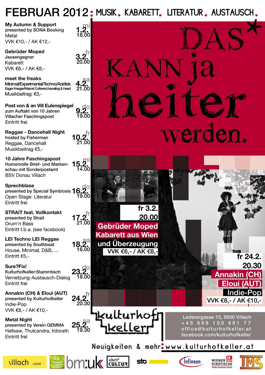 Kulturhof:keller 2012