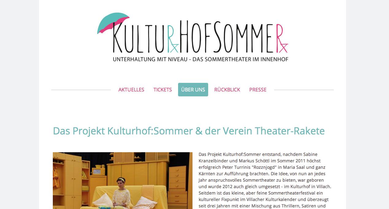 Kulturhof:Sommer 2015