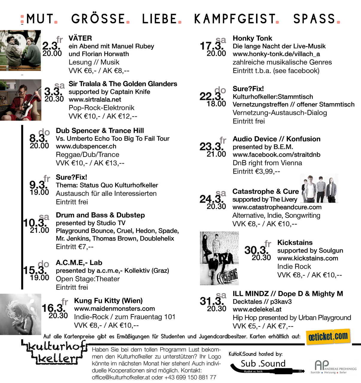 Kulturhof:keller (innen)