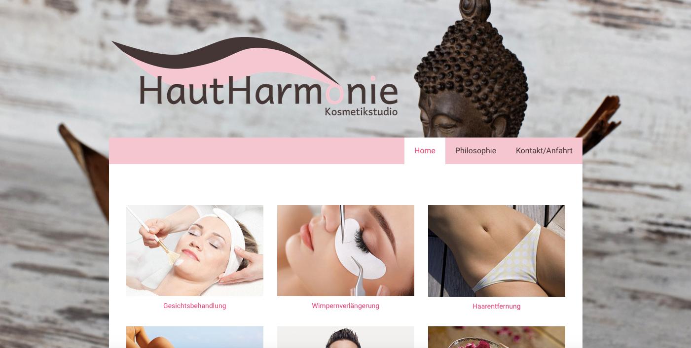 Kosmetikstudio Haut-Harmonie 2016