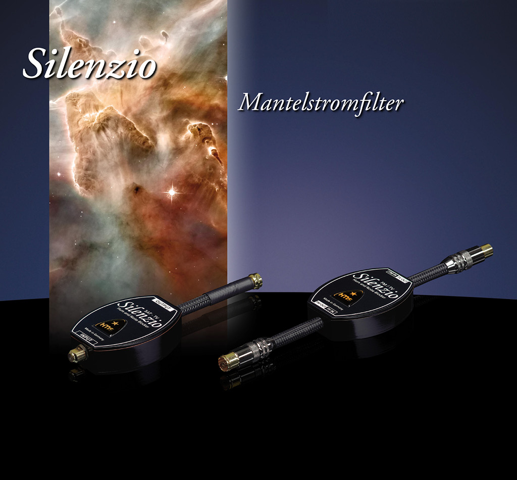 Silenzio High End Mantelstromfilter