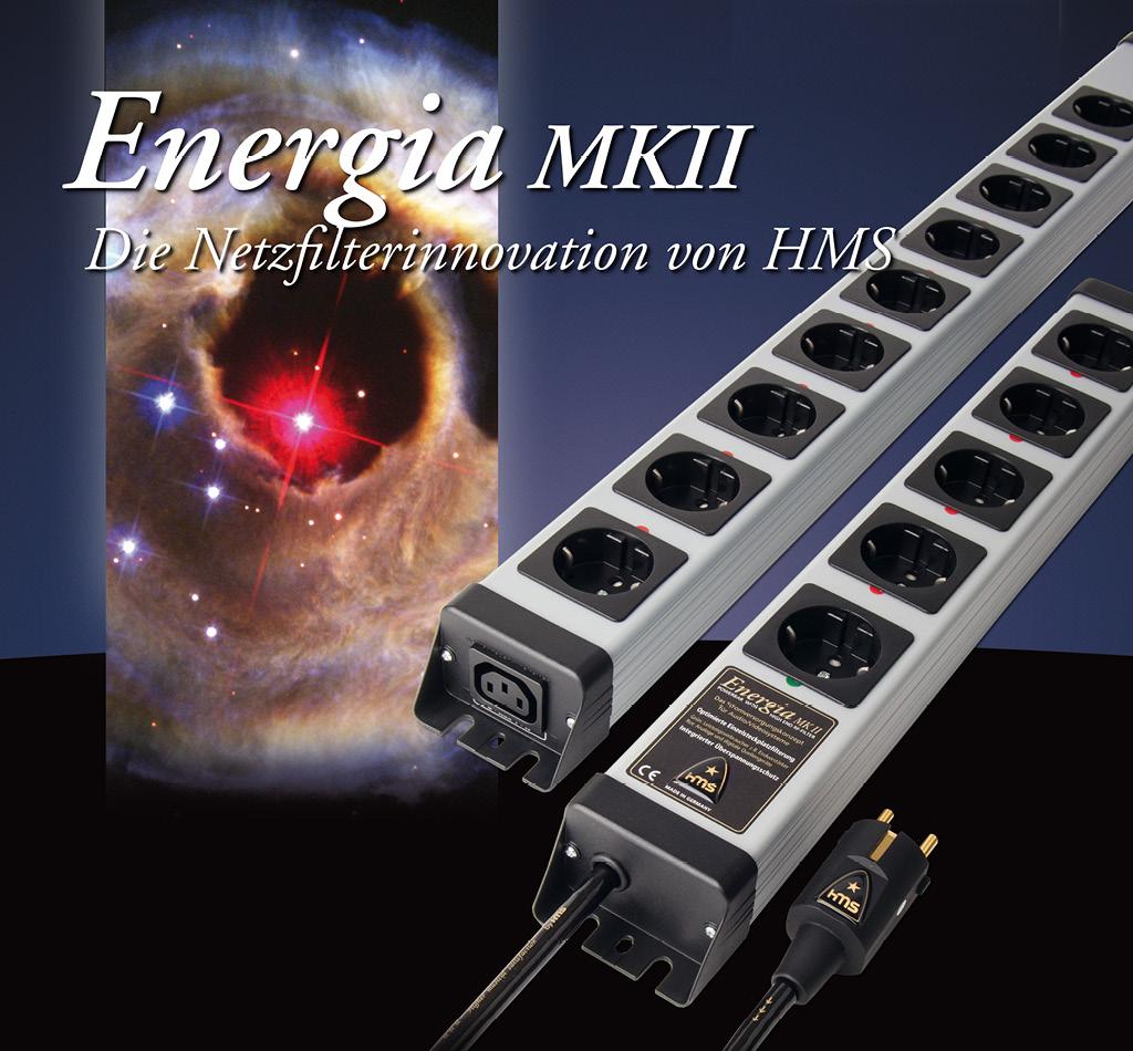 Energia MK II High End Netzfilterleiste