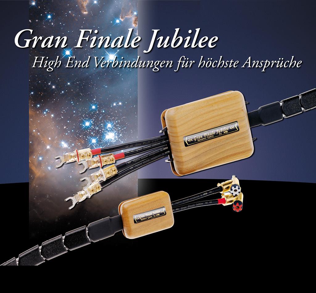 Gran Finale Jubilee High End Lautsprecherkabel