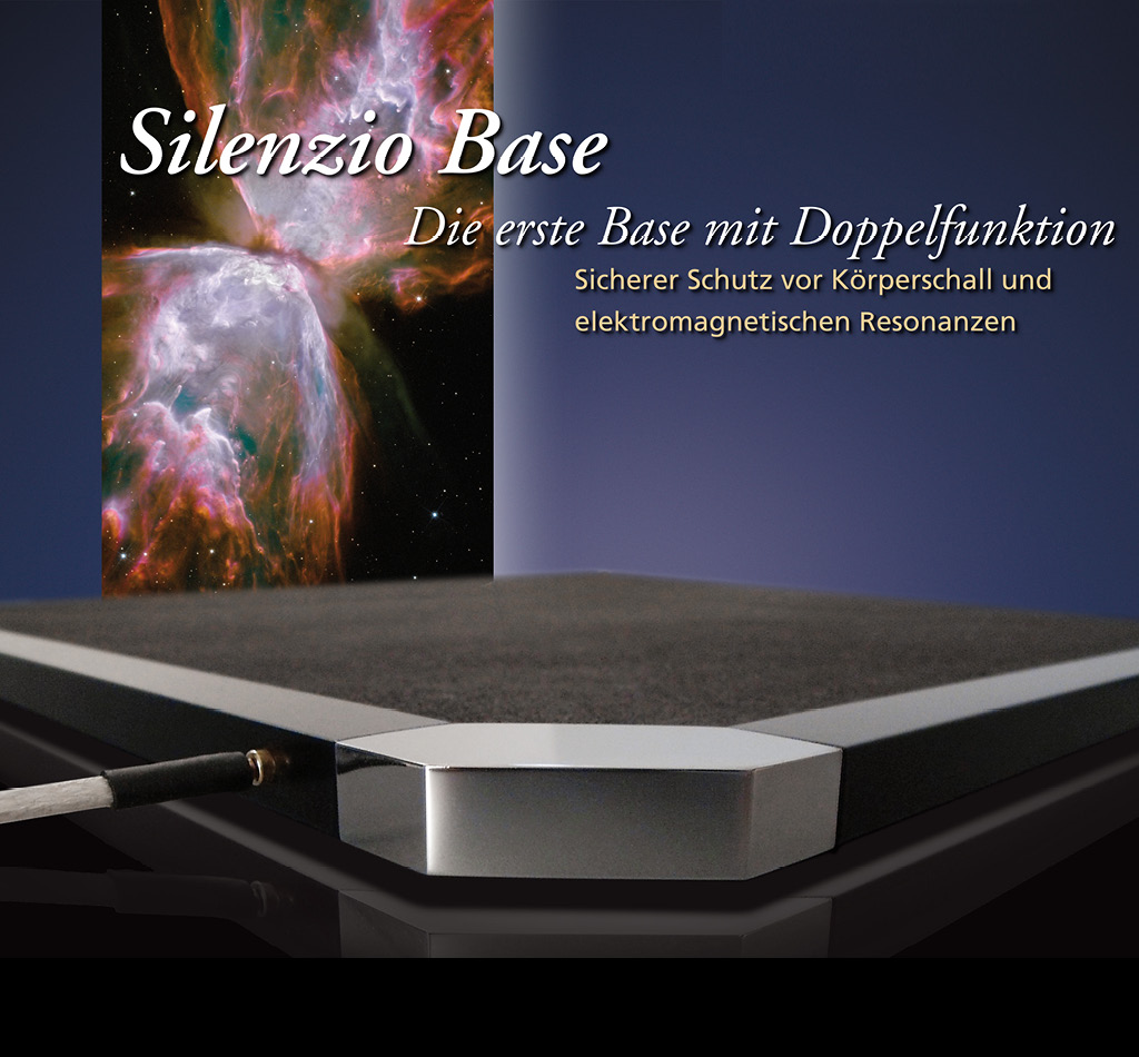 Silenzio Base High End Base mit Doppelfunktion