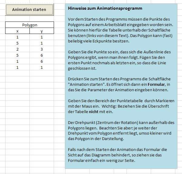 Polygonrotation - Die Informatikseite von Prof. Dr. Otto Rauh