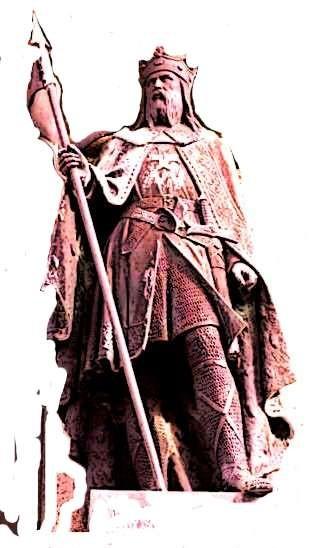la statue de Robert le Magnifique à Falaise