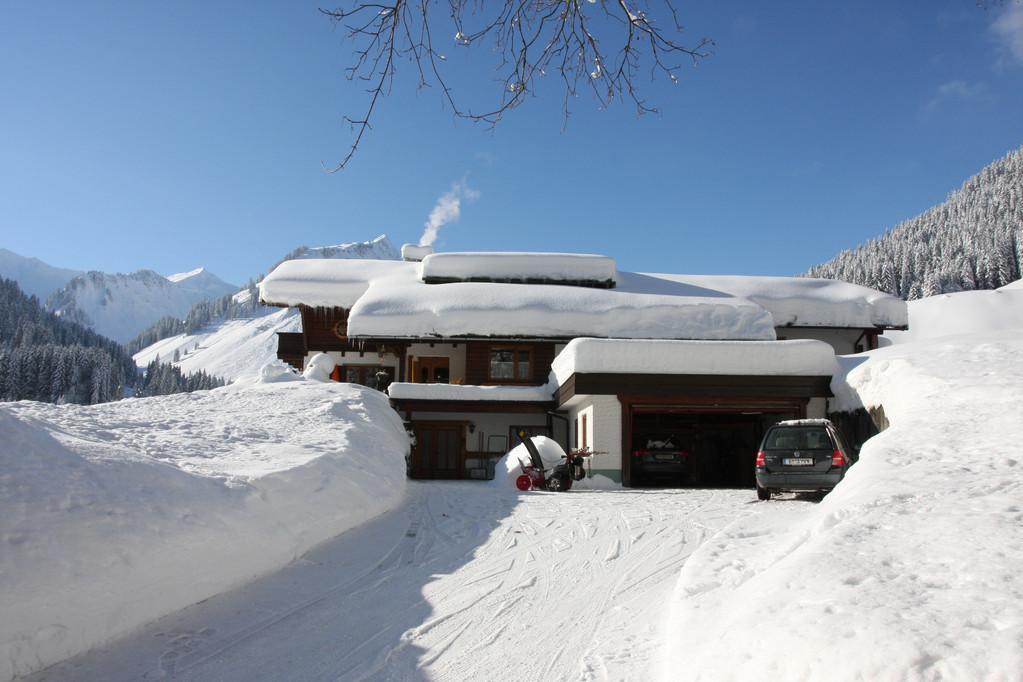 Haus Erika – Winter bei uns