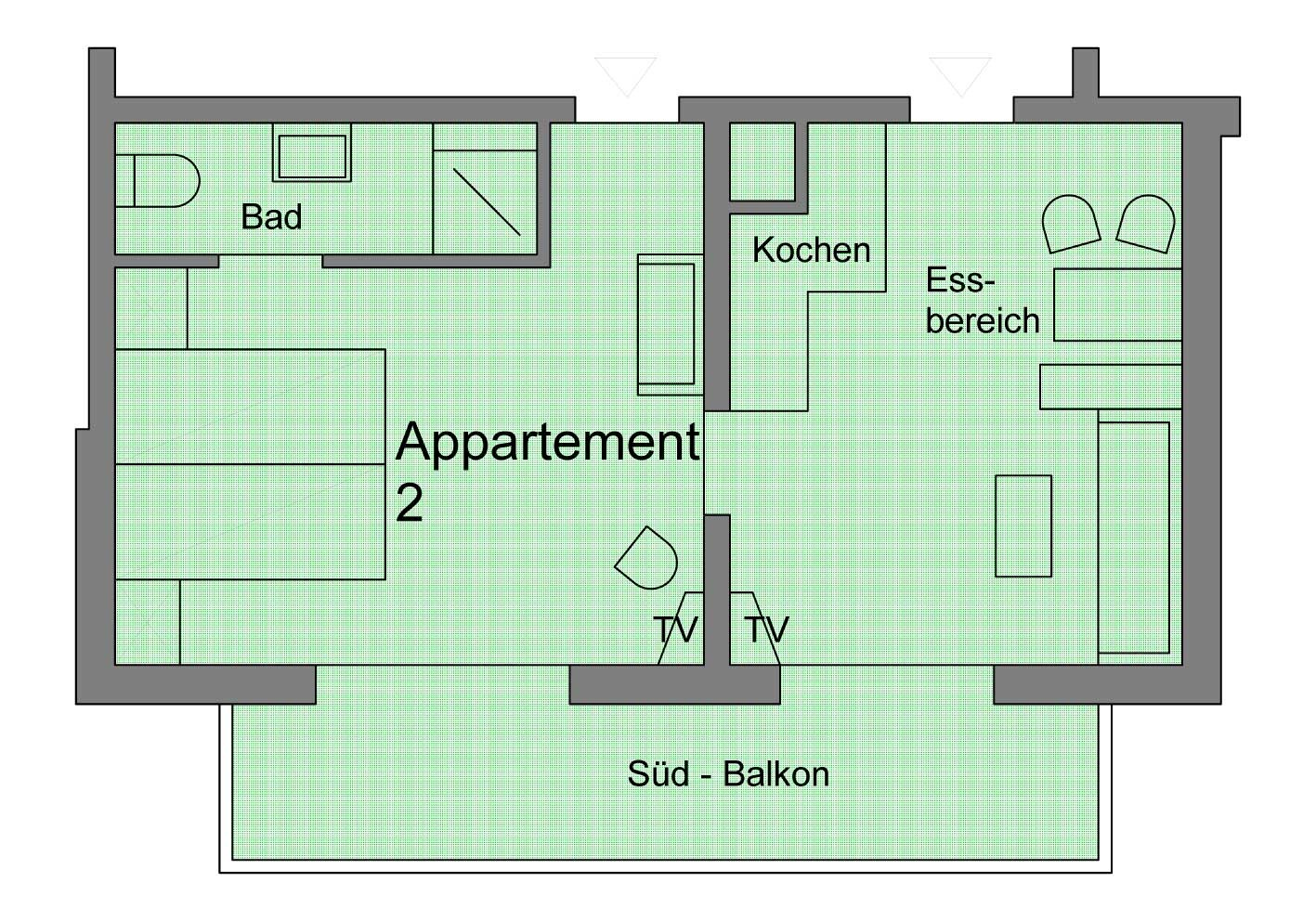 Appartement 02 – Haus Erika – Kleinwalsertal