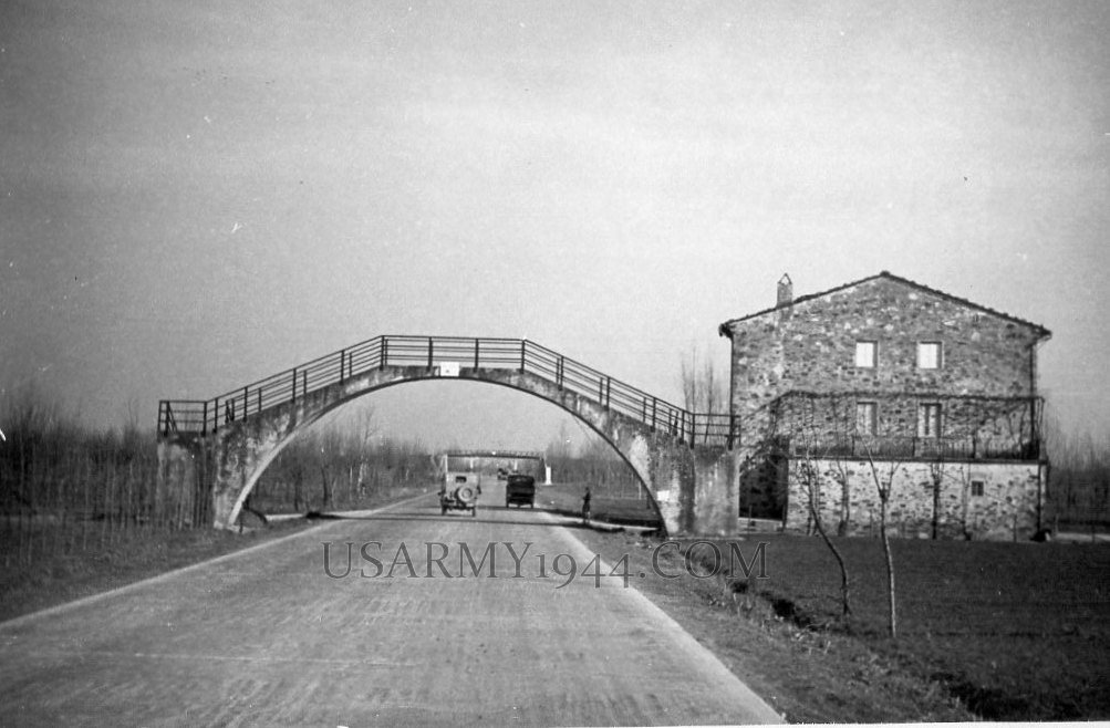 Autostrada verso montecatini 1944