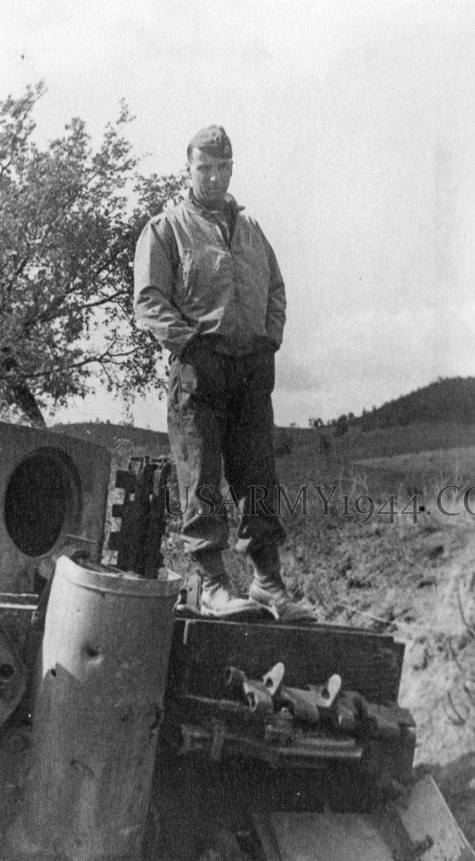 Capt. Mark Reardon Near Massa Marittima  1944