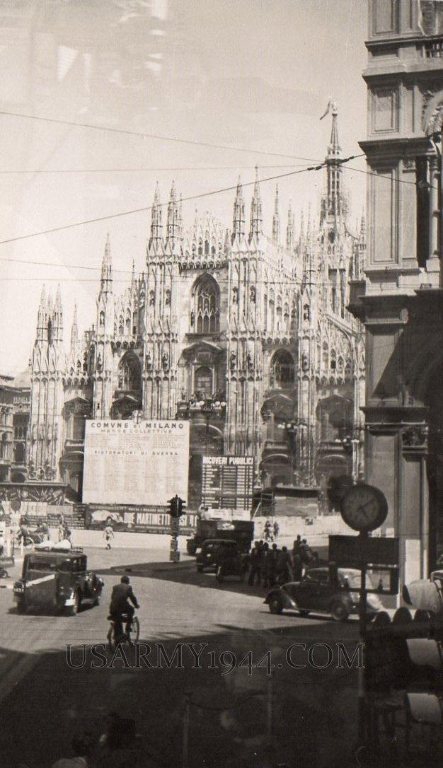 Duomo Milano 1945