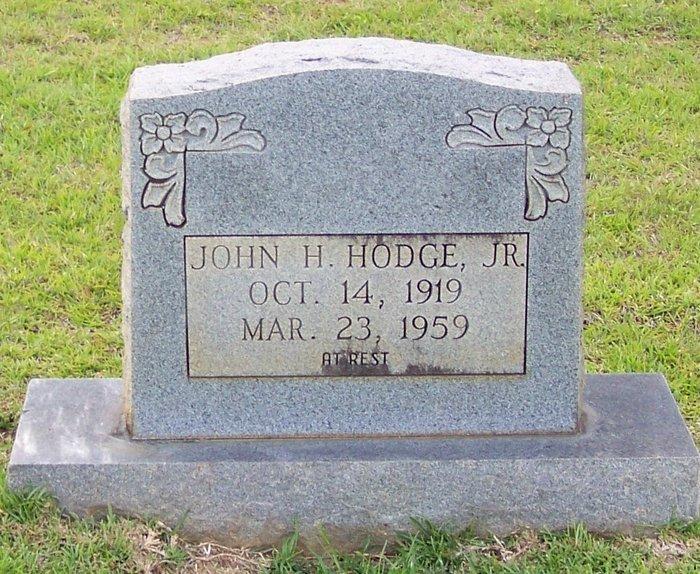 PFC Hodge John JR