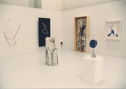 Left to right: Alf Schuler, Pol Bury, T. Virnich, Niki de St. Phalle, Yves Klein