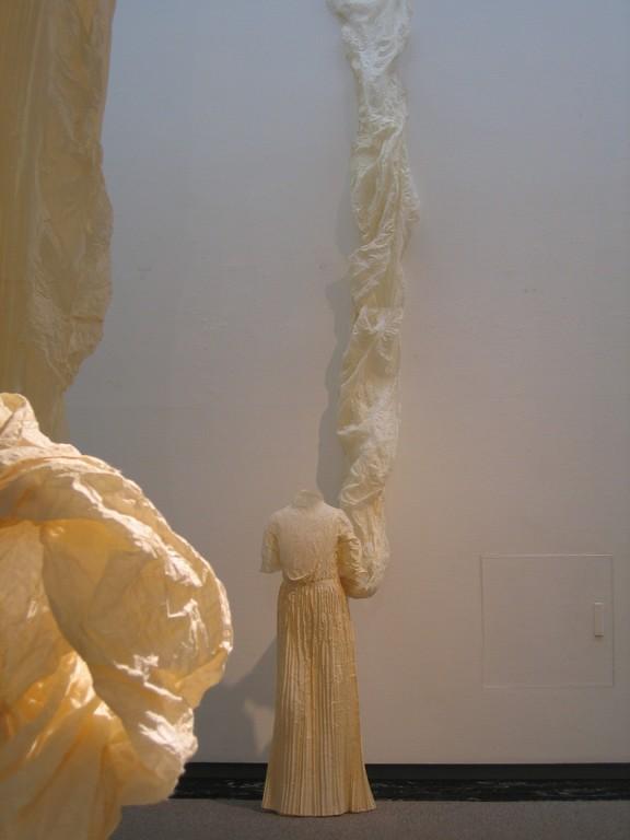 「ほどくかたち、つむぐけしき」2011・米山和子