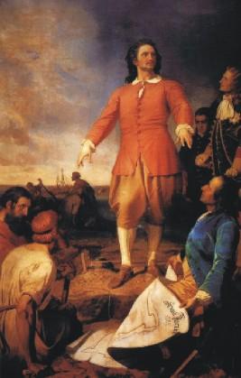 Alexander Kotzebue: Fondation de Saint-Pétersbourg par Pierre le Grand (1703)